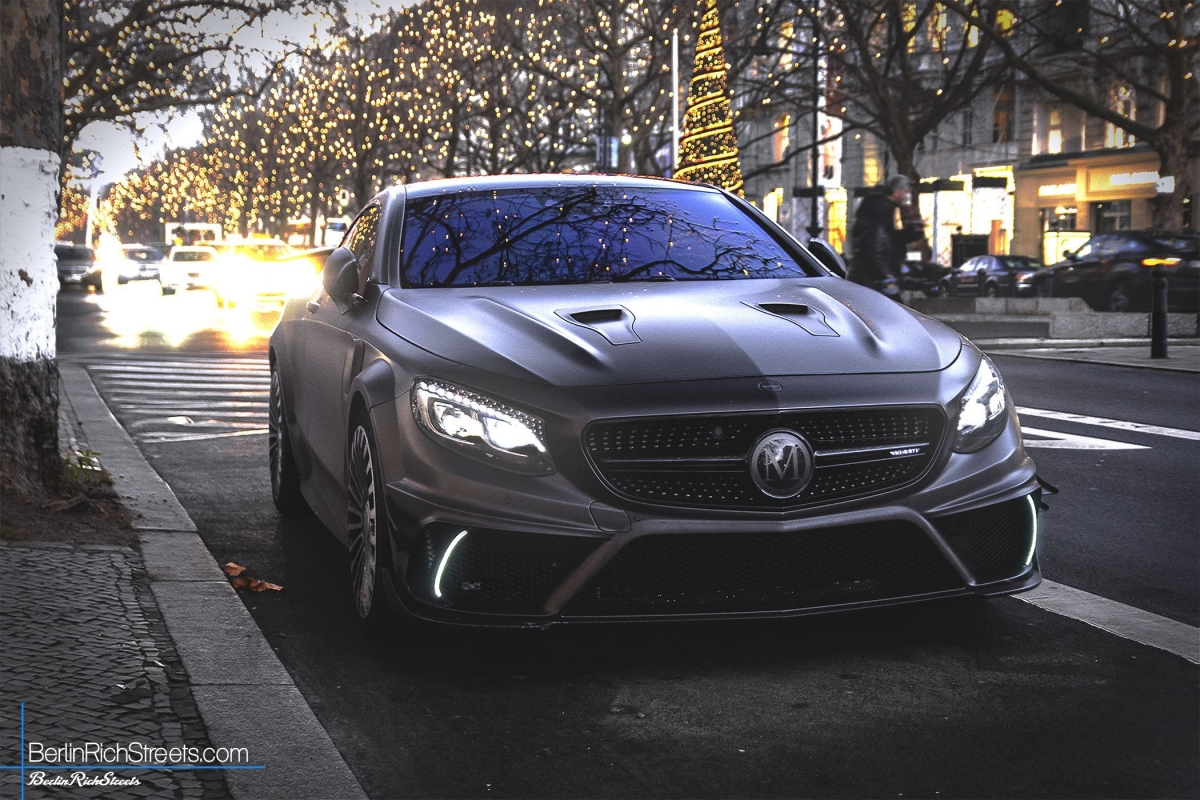 Mercedes benz mansory s63 amg coup c217 black edition for Mercedes benz s63 amg 2010