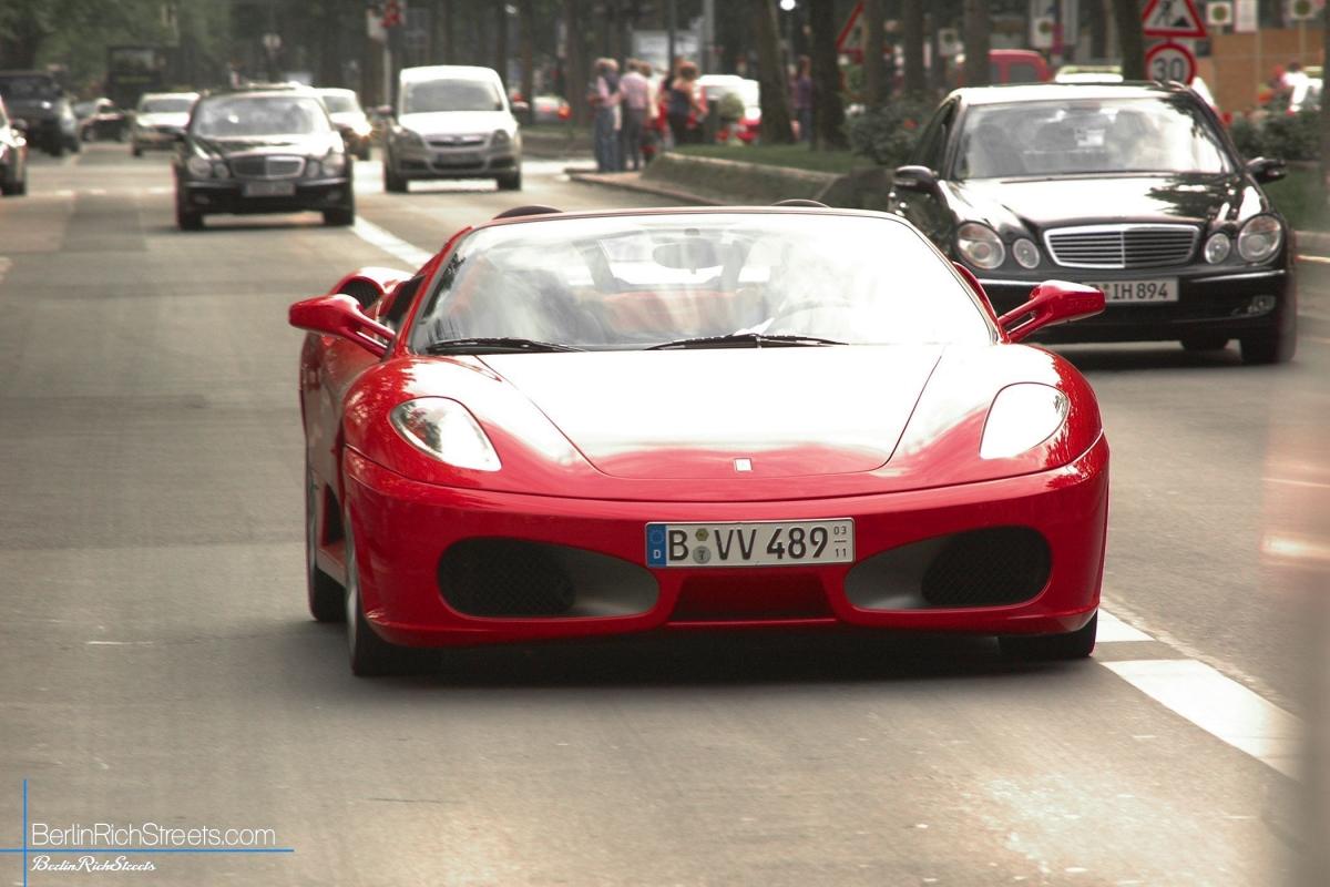 Ferrari F430 Spider Berlinrichstreets Carspotting Since 2010