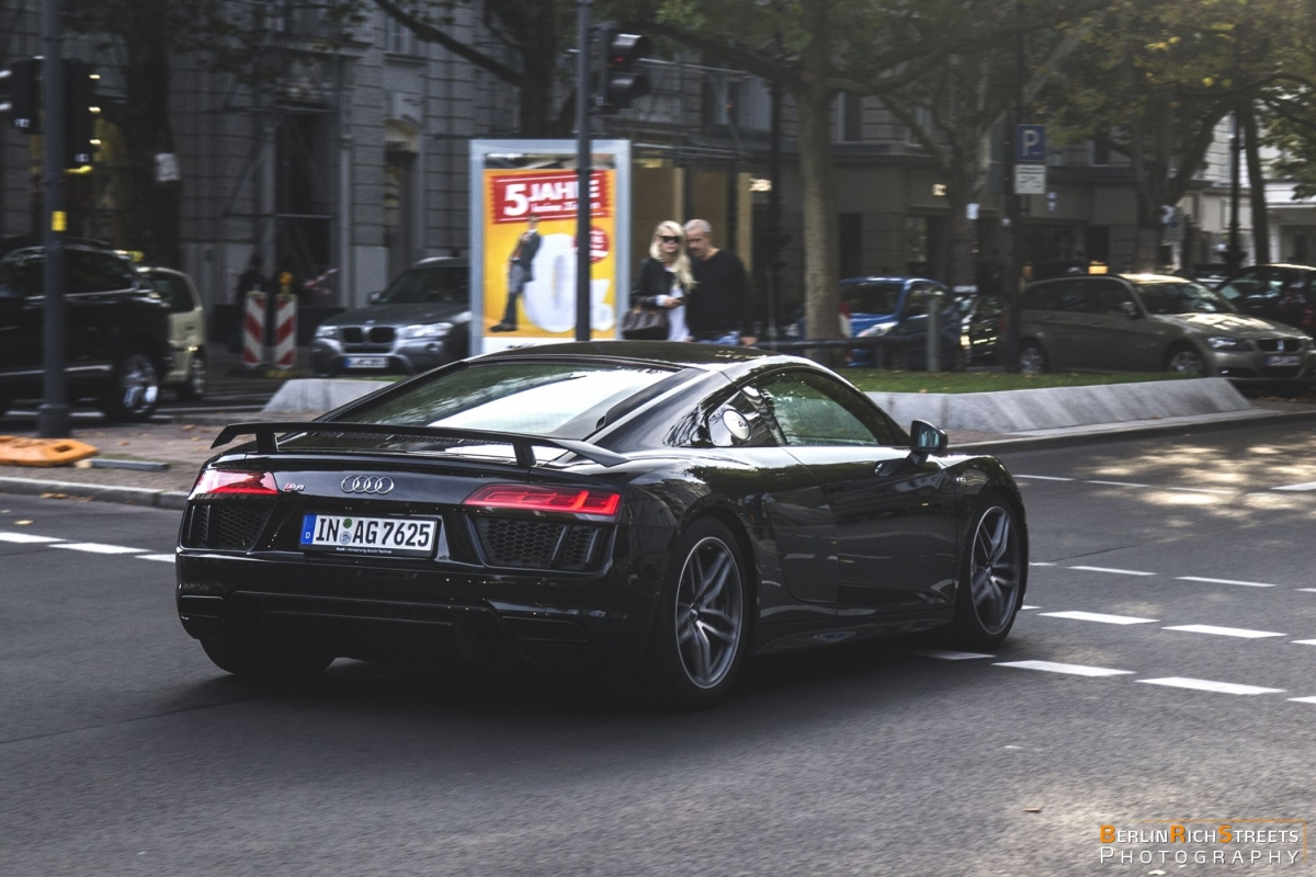 Audi R8 V10 Plus 2016 Berlinrichstreets Carspotting